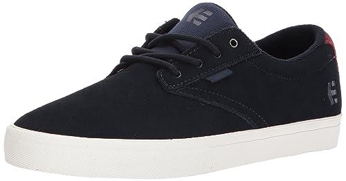 Etnies Men's Jameson Vulc Skateboarding Shoes, Blue (488-Dark Navy), 4