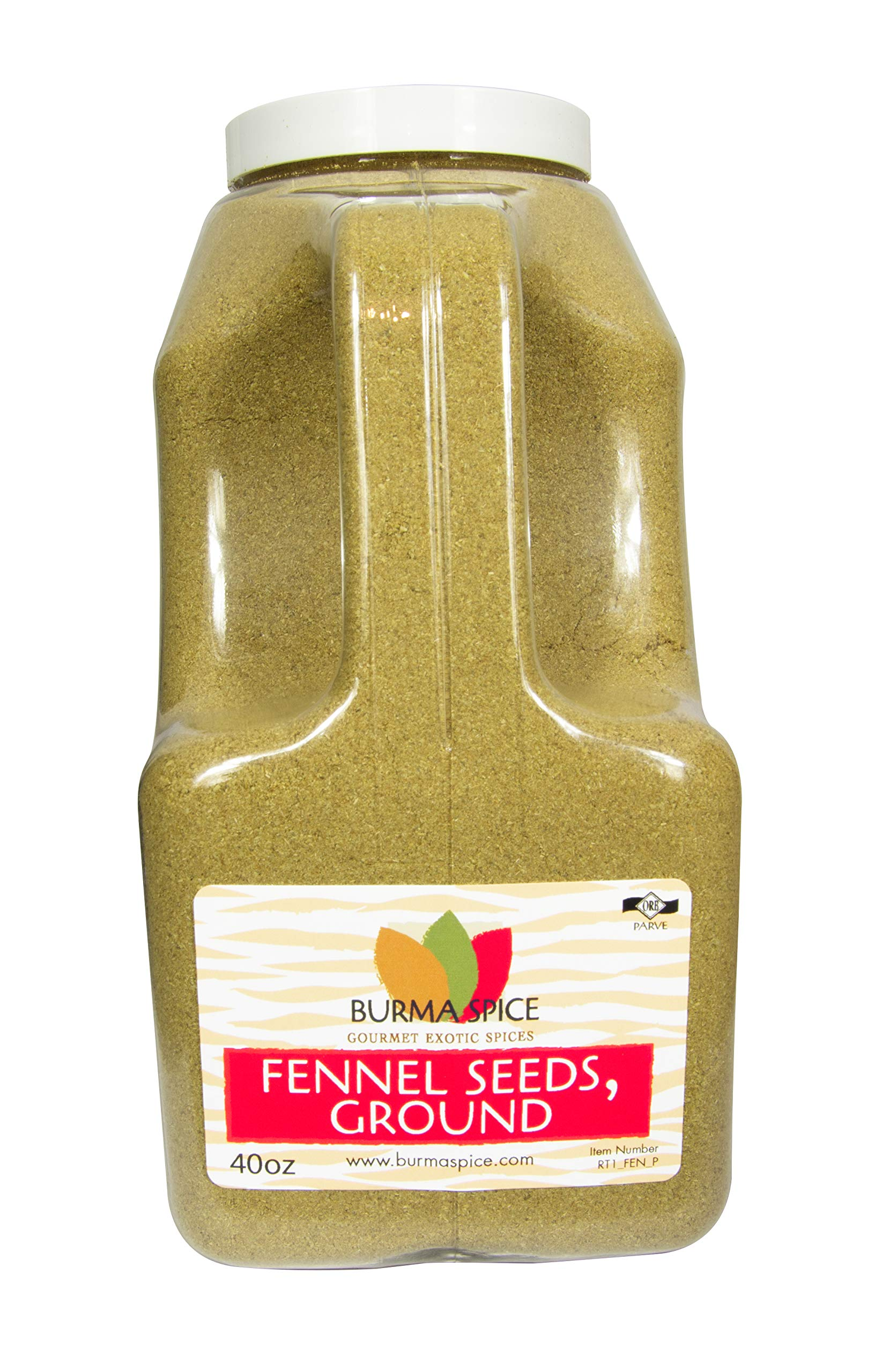 Ground Fennel Seed (40 oz.)