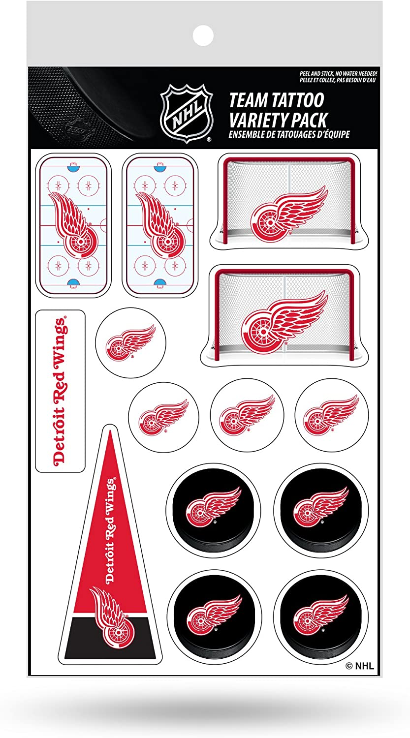 Rico NHL Tattoo Variety Pack