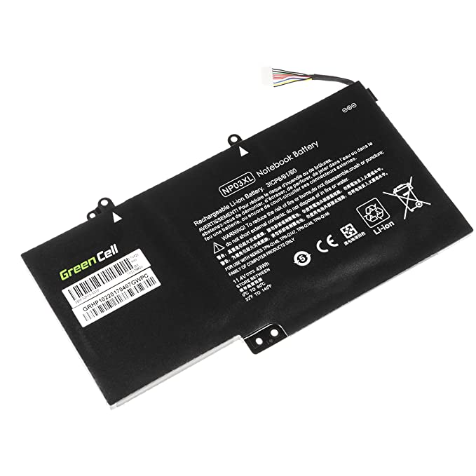 Green Cell® Batería para HP Envy x360 15-U000NS Ordenador (3700mAh 11.4V Negro): Amazon.es: Electrónica