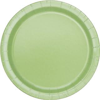 Apple Green Paper Cake Plates 20ct  sc 1 st  Amazon.com & Amazon.com: Apple Green Paper Plates 8ct: Kitchen u0026 Dining