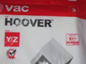 Hoover Vacuum Style Y/z Bags 3 Qty. 304573001
