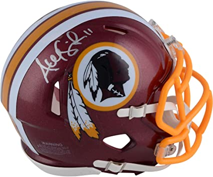 Alex Smith Washington Redskins Autographed Riddell Speed Mini Helmet -  Fanatics Authentic Certified - Autographed NFL 7a163a492