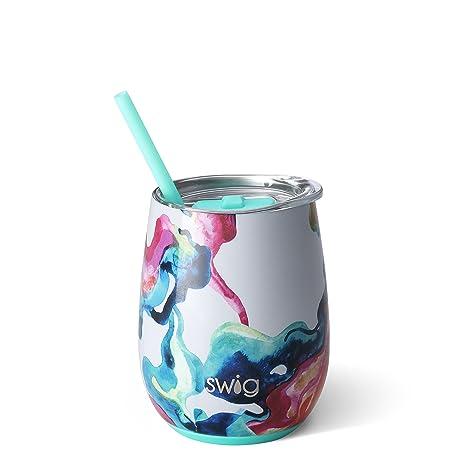 Amazon.com: Swig Life Signature - Copa de vino sin tallo de ...
