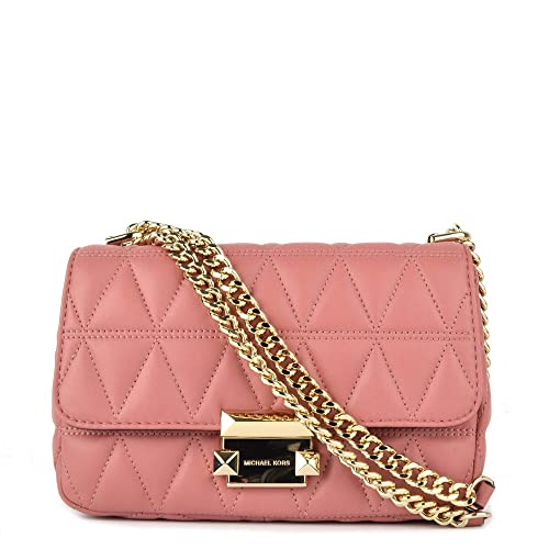 dafe56de58bdd7 MICHAEL by Michael Kors Sloan Small Rose Chain Shoulder Bag one size Rose