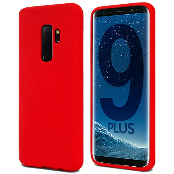 outlet store 391aa 32e9a Galaxy S9+ Plus Case for Samsung Galaxy S9 Plus, [Thin Slim] GOOSPERY  [Flexible] Soft Feeling [Matte] Silky TPU Rubber Liquid Gel Silicone Case  ...