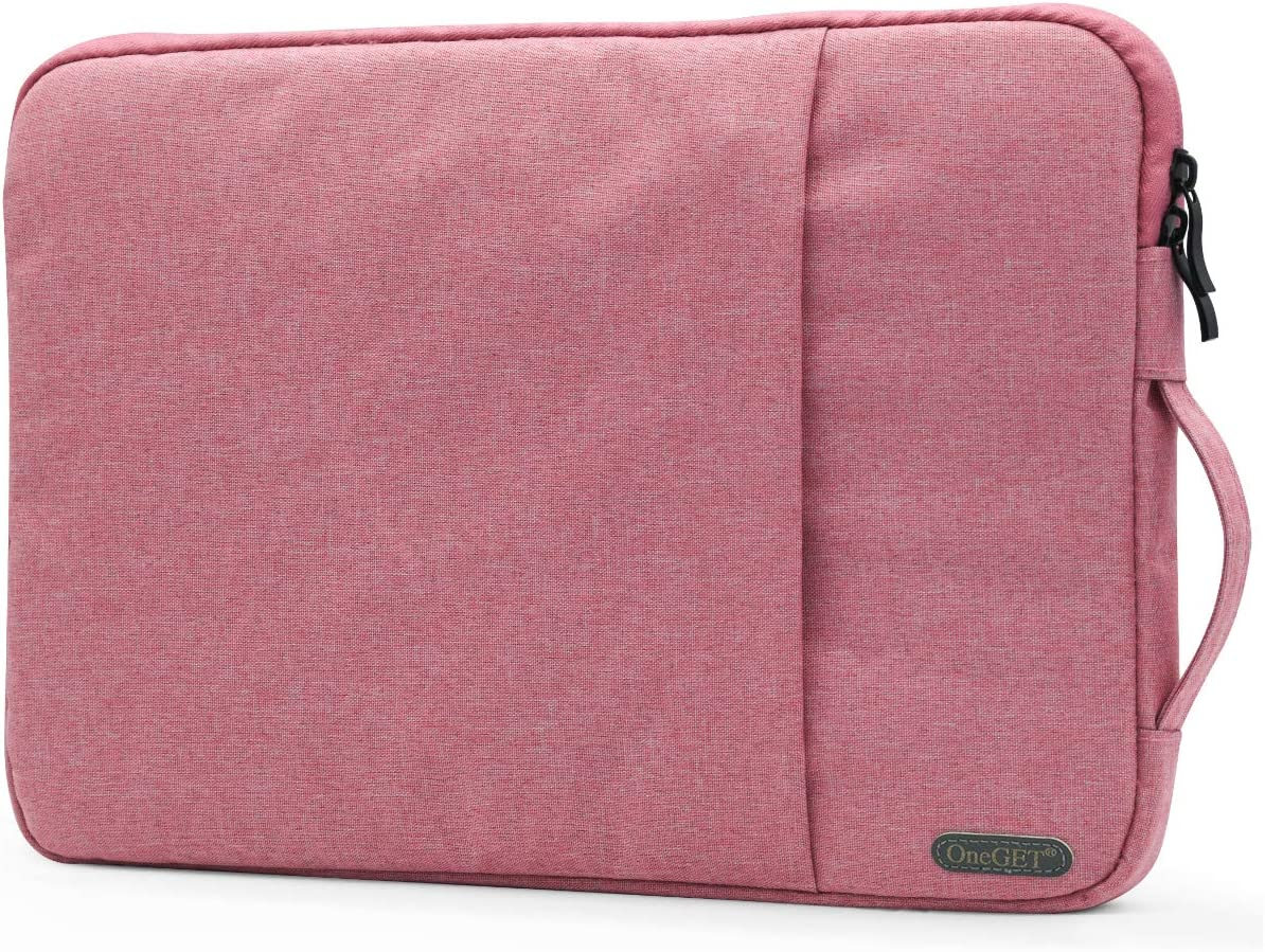 OneGET Laptop Sleeve for 13 Inch Macbook Air Macbook Pro Internal Fluff Laptop Bag With Accessory Pocket, Protective Carrying Case Cover for 13