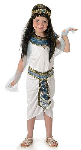 Queen Cleopatra Girls Egypt Empress Childrens Kids Childs Egyptian Costume New (Medium 5 -7  sc 1 st  Amazon UK & Queen Cleopatra Girls Egypt Empress Childrens Kids Childs Egyptian ...