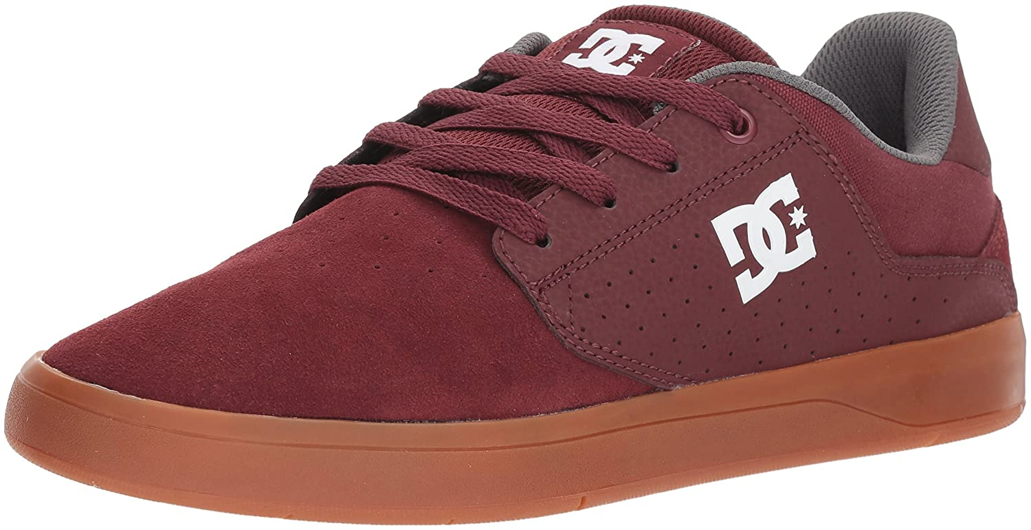 DC Men's Plaza TC Skate Shoe 13 D D US|Maroon