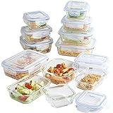 VonShef Food Glass Storage Container Sets (12PC)