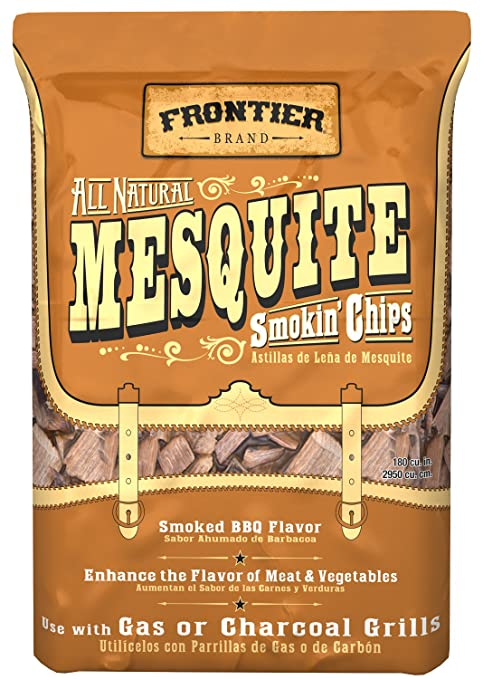 Frontier WMC02 Mesquite All Natural Smokin Chips