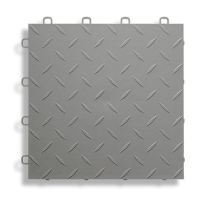 Blocktile B1us4627 Garage Flooring Interlocking Tiles Diamond Top