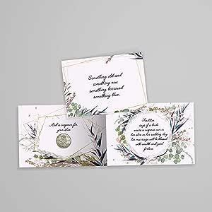 Amazon.com: Auténtica moneda de seis peniques con tarjeta y sobre para la  novia. Algo viejo, algo nuevo, algo prestado y algo azul y seis peniques  para su zapato.: Toys & Games
