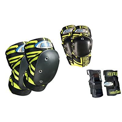 MBS Pro Tri-Pack Pads : Skate And Skateboarding Wrist Guards : Sports & Outdoors