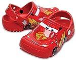 Crocs Infantil Clog FunLab Disney Carros, Laranja, Tamanho 24 BRA