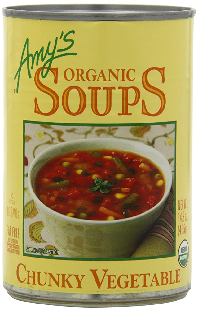 Amy's Organic Soups, Chunky Vegetable