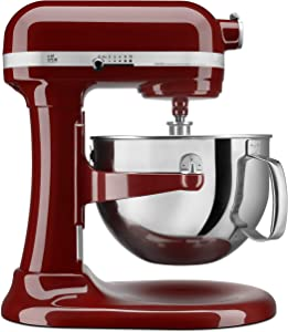 KitchenAid KP26M1XGC 6 Qt. Professional 600 Series Bowl-Lift Stand Mixer - Gloss Cinnamon (Renewed)