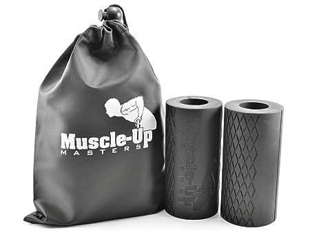 muscle-up Masters – Calistenia antebrazo y agarre entrenador – barra espesante para barra de