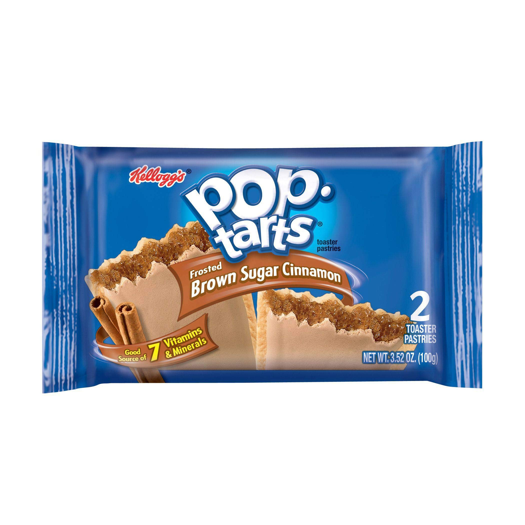 Frosted Brown Sugar Cinnamon Pop Tarts 12 Case 6/144 Count by Kellogg's (Image #1)