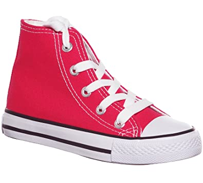 8072ec127 High Top Sneakers Lace up Hi Canvas Skate Shoes for Kids (1
