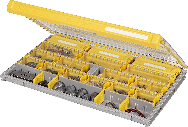 Plano Edge Master Terminal Tackle Storage | Organización Premium para aparejos con prevención de óxido, transparente/amarillo, talla única: Amazon.es: Bricolaje y herramientas