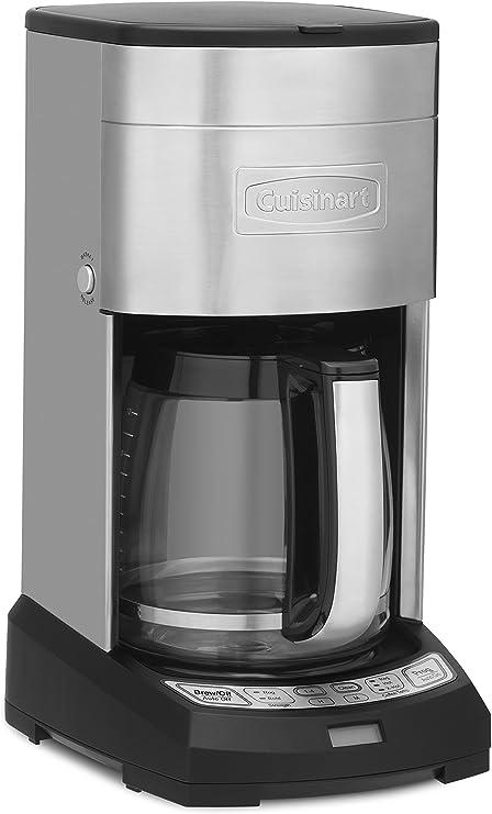 Amazon.com: Cafetera para 12 tazas, de Cuisinart, Acero ...