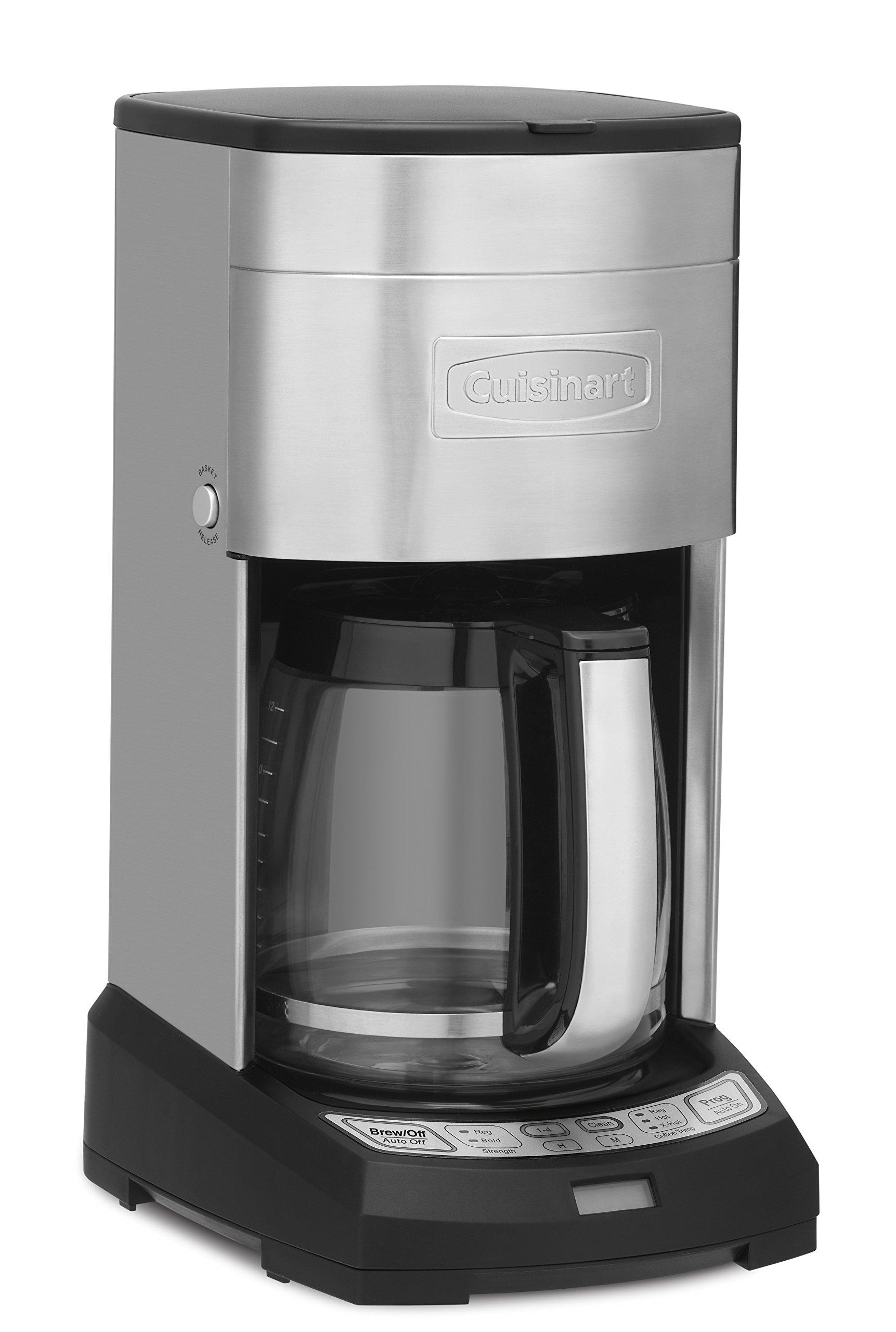 Cuisinart DCC-3650 Elite 12-Cup Coffeemaker, Stainless Steel - Amazon Exclusive