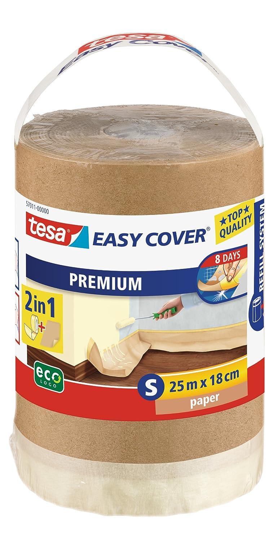 tesa Easy Cover 57011-00000-03 - Carta di copertura, rotolo di ricarica