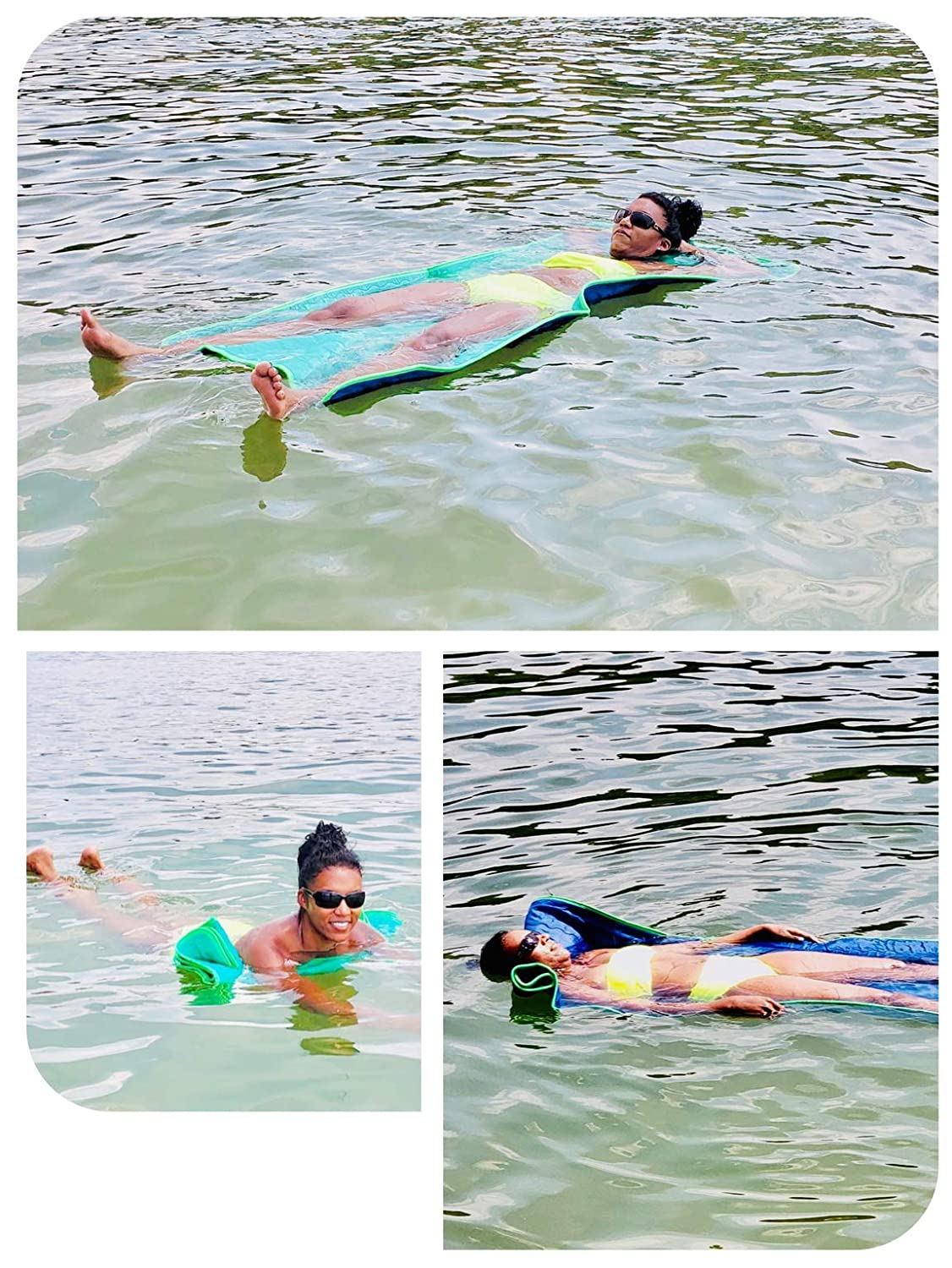 Unbeatable Pool Float Swim AIDE Sleep// Exercise MAT Dog Bed Never INFLATE// Blow UP ECO-Friendly Long-Lasting for Adults Kids Dogs