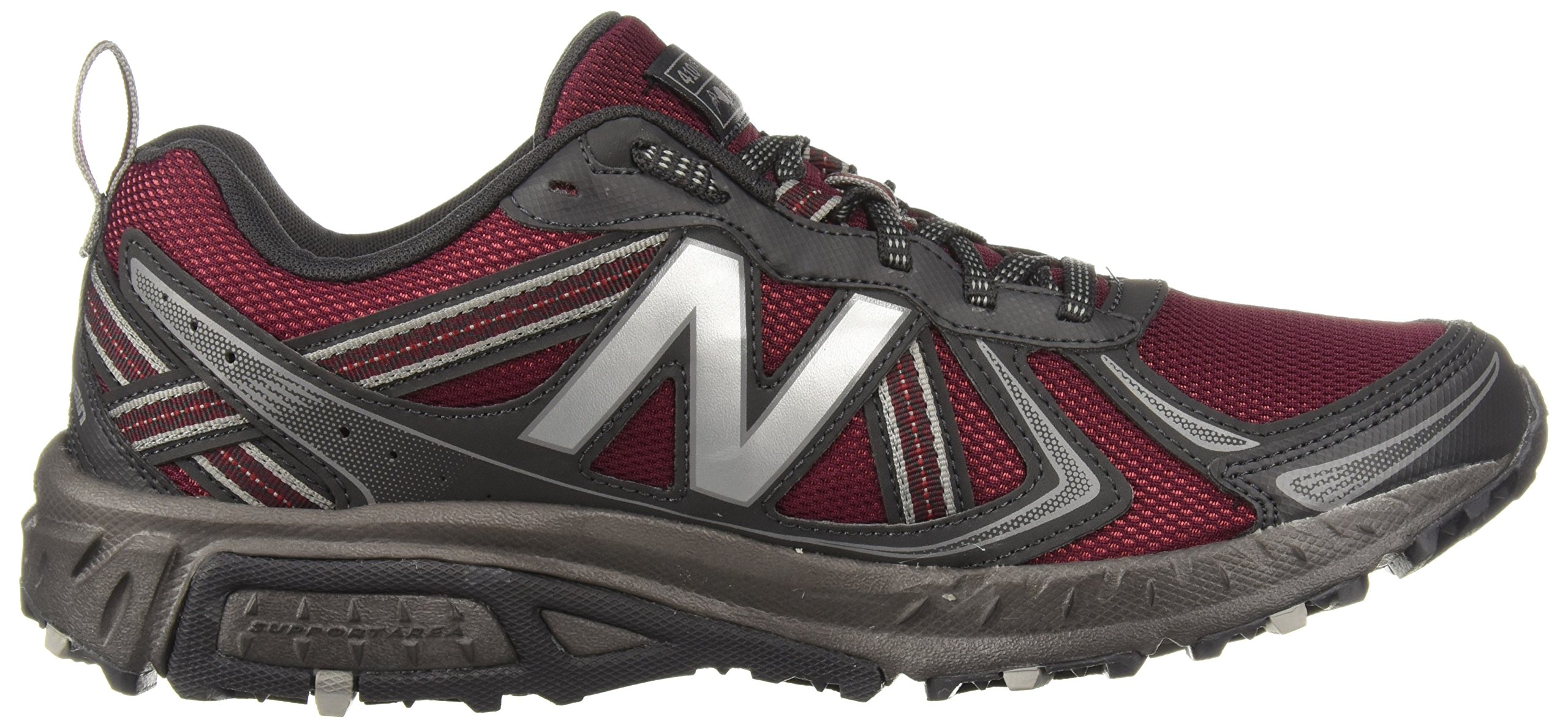 New Balance Men's MT410v5 Cushioning Trail Running Shoe, Oxblood, 7 D US by New Balance (Image #6)