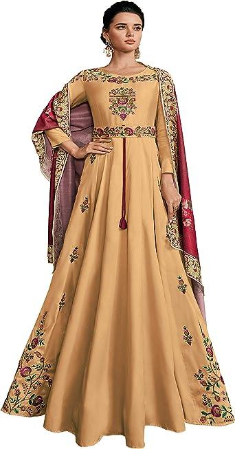 Anarkali Suit Salwar Indian Kameez Designer Pakistani Readymade Shalwar