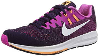 Nike Zoom Structure 20 Women's Running Shoes Purple Dynasty/fire Pink