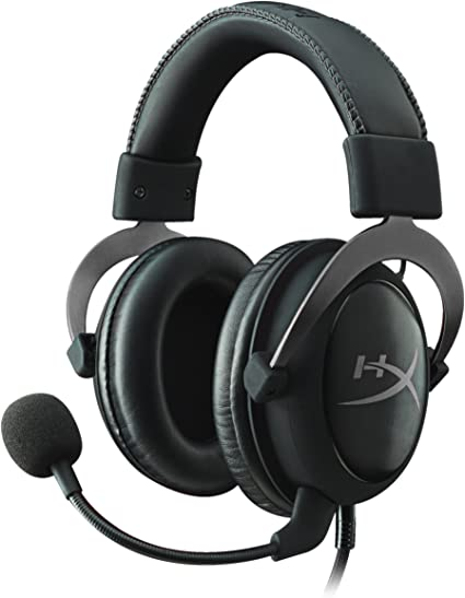 Kingston HyperX KHX-HSCP-GMRC Cloud II Gaming Headset for PC/PS4 ...