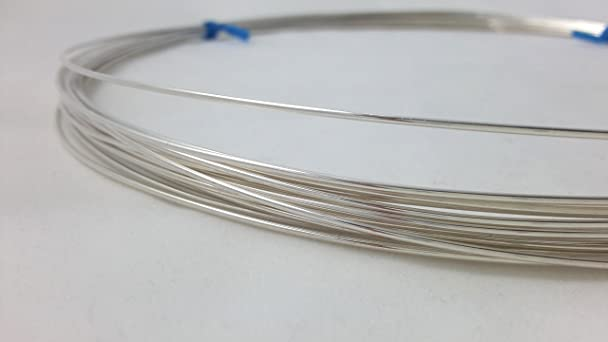 Amazon.com: 1 Ounce (76 Ft) 925 Sterling Silver Wire 26 Gauge ...