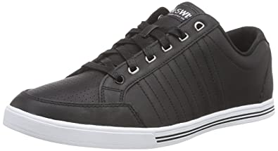 Chaussures De Sport K-swiss Tribunal Unisexe Adulte Pro Vulc - Noir - 40 Eu Lqn4vGR6ql