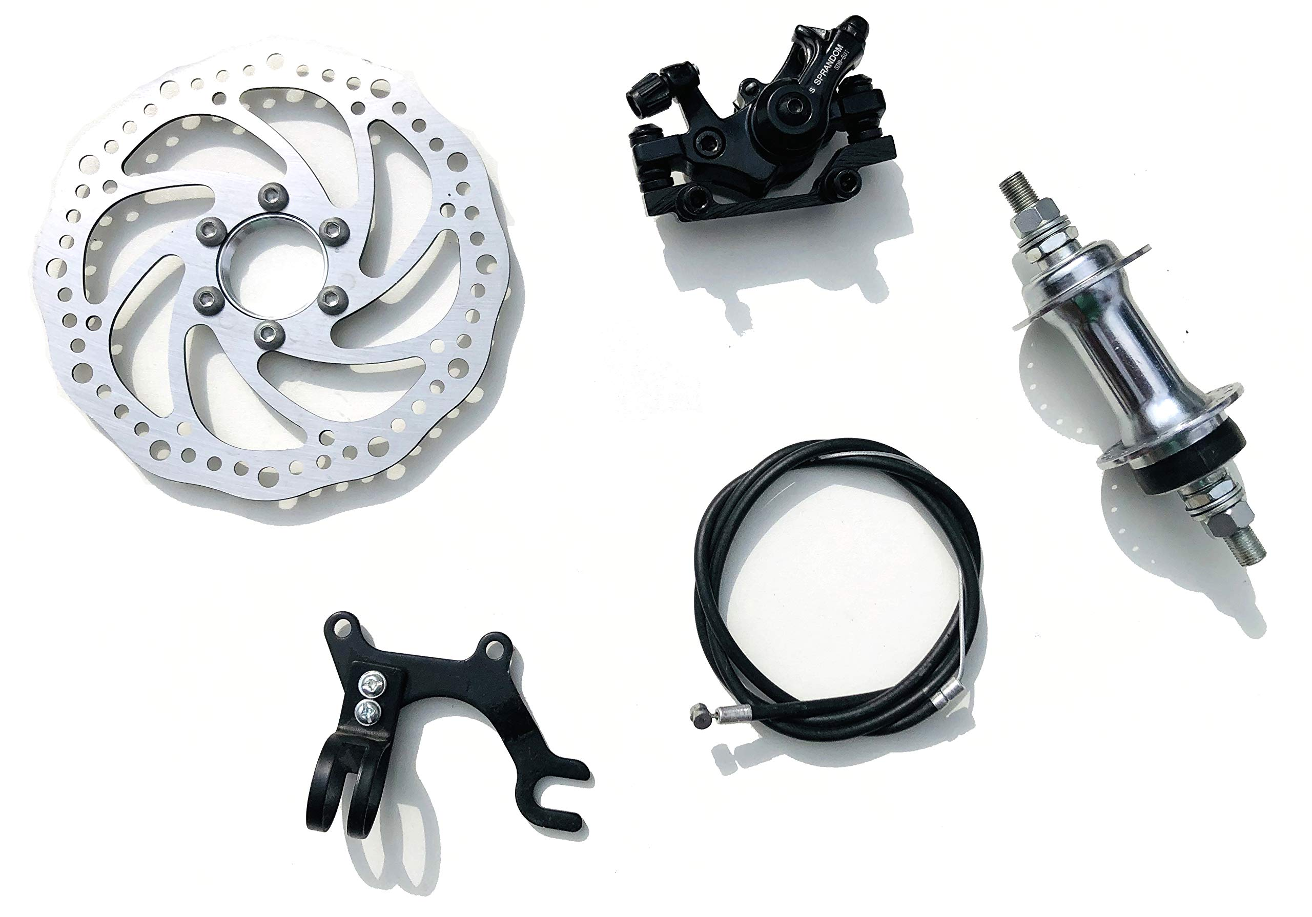 Universal Mechanical Disc Brake MTB Bike Cycling Bicycle Caliper G3 160mm Rotor
