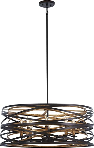 Minka Lavery Unique Pendant Ceiling Lighting 4678-111 Vortic Flow