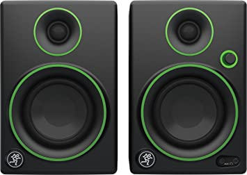 speakers in amazon. mackie cr3 3 inch monitor speakers - black in amazon