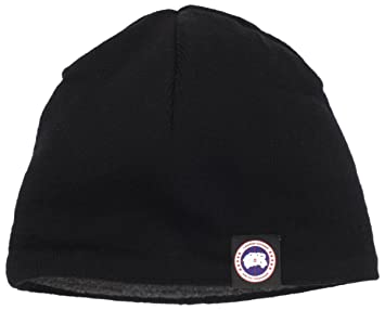 Image Unavailable. Image not available for. Colour  Canada Goose Men s  Merino Wool Beanie Hat ... fed09df037d