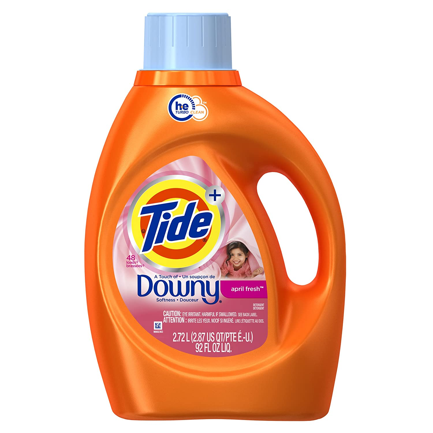 High Efficiency Detergent Brands Amazoncom Tide Plus A Touch Of Downy High Efficiency Liquid