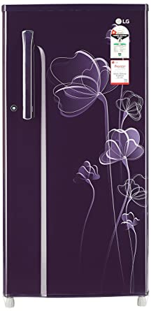 LG 188 L 1 Star Direct Cool Single Door Refrigerator(GL-B191KPHU.APHZEBN, Purple Heart)