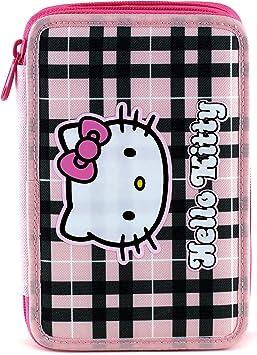Hello Kitty 23890 - Estuche Doble Completo para Escuela: Amazon.es: Equipaje