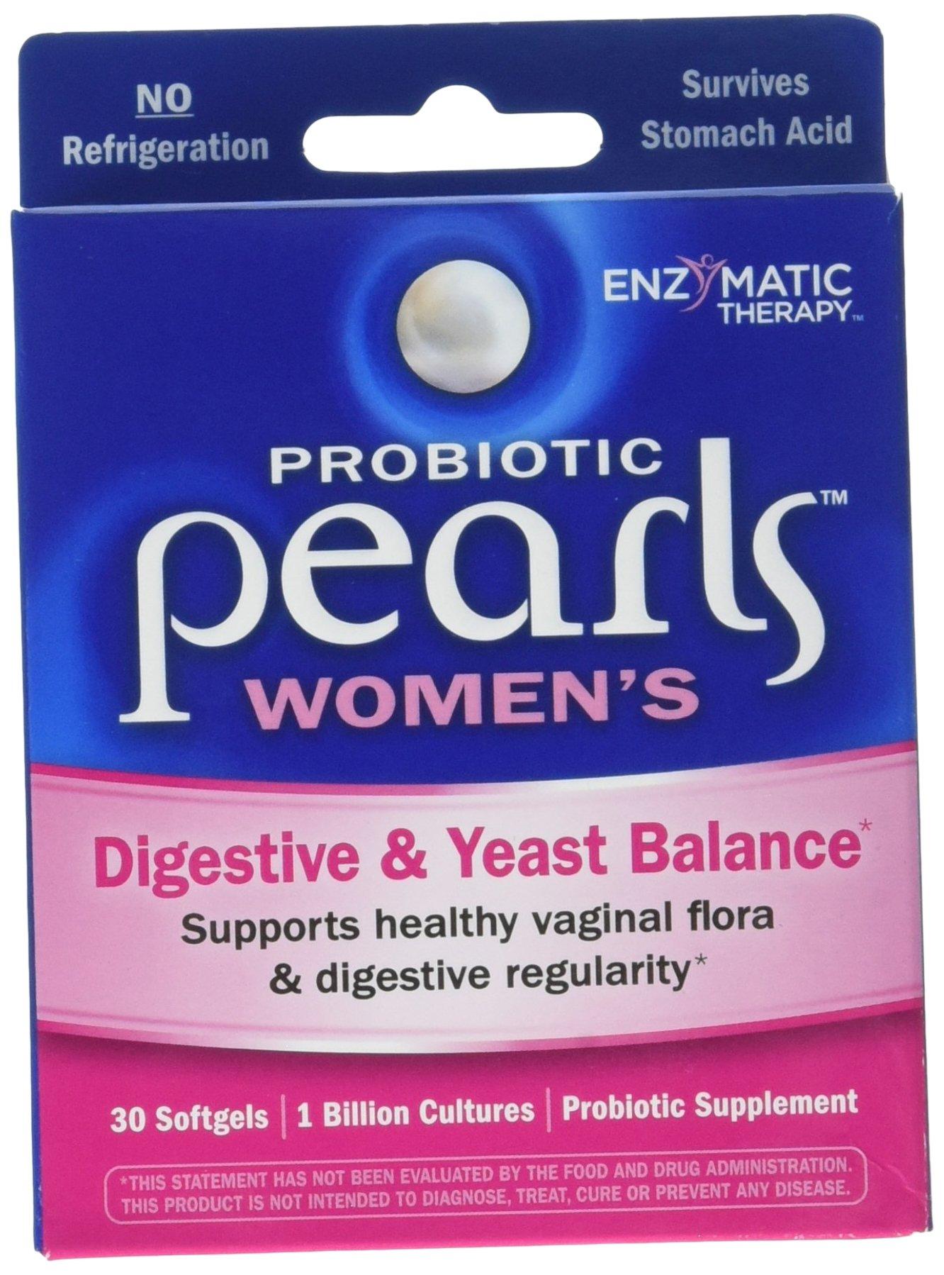 Enzymatic Therapy Pearls yeast 30 x 3 by Enzyamtic