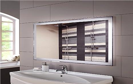Specchio con illuminazione interna a led design linea cl senza