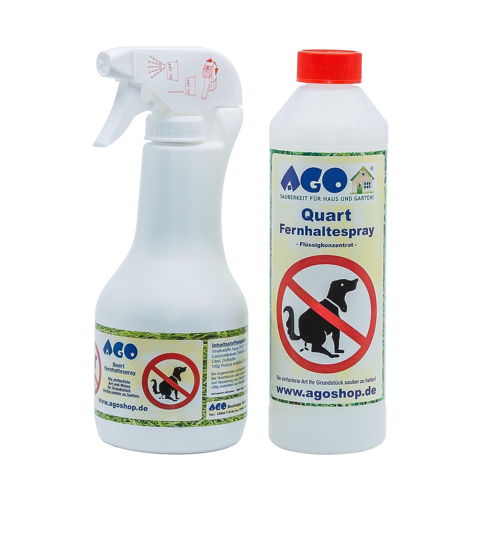 Ago Fernhaltespray Set 500ml Hochkonzentrat Handsprüher Amazonde