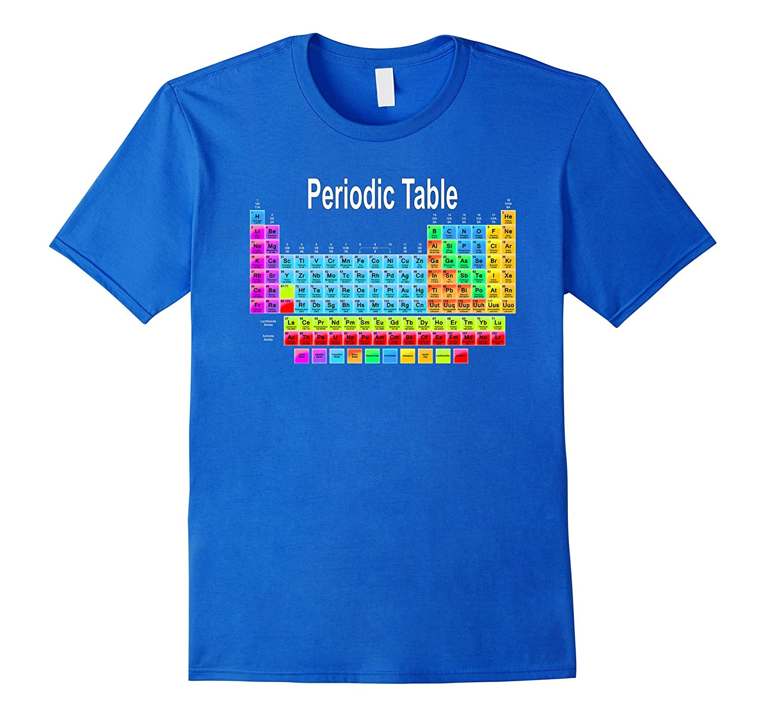 Periodic Table Shirt Science Chemistry Nerdy Fun Gm Ganamatee