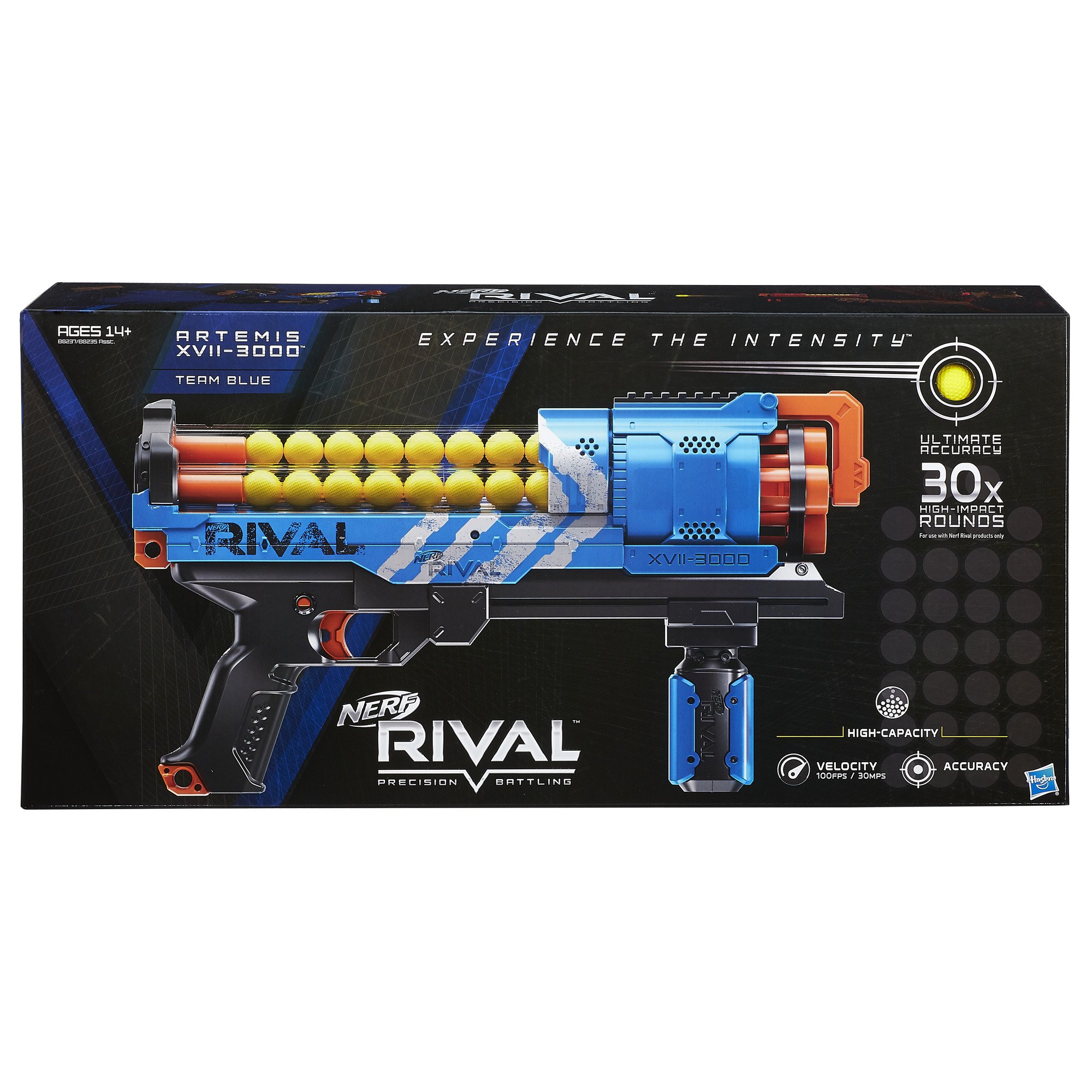 NERF Rival Artemis XVII-3000 Blue by NERF (Image #2)