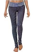 WITH Women's Long Leggings Rhombus Black