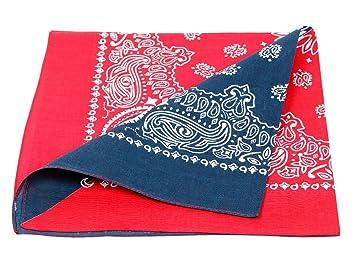 452382991655 Bandana de qualité supérieure 100% coton, environ 54 x 54 cm foulard  zandana écharpe