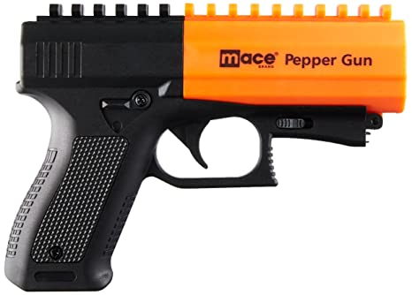 ce14091b232 Image Unavailable. Image not available for. Color: Mace Brand Police  Strength Pepper Spray Pepper Gun 2.0